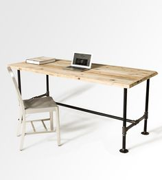 The Maria Reclaimed Wood Dining Table | Whether it's serving as a base for a quiet family dinner, or i... | Furniture