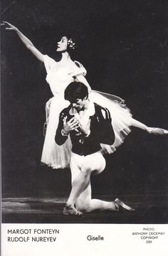 Ballet Photo Rudolf Nureyev Margot Fonteyn Giselle postcard | eBay