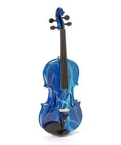 Blue Lightning Violin