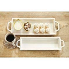Set of 2 SL Rectangular Trays | European-Inspired Home Furnishings | Ballard Designs
