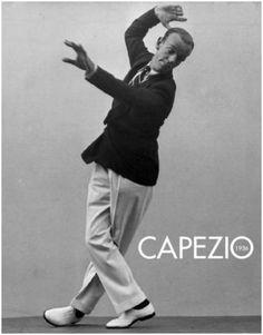 Capezio Tap Shoes Astaire Ad