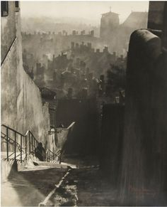 Theo Blanc. Old Quarter St. Jean, Lyon, c1930