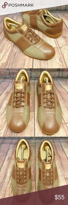 COACH Men's Meyer Brown Leather Shoes Sz 8.5M Excellence Pre-owned Conditions Men's Coach shoes men's size 8.5M  Please see pics for details Coach Shoes Oxfords & Derbys