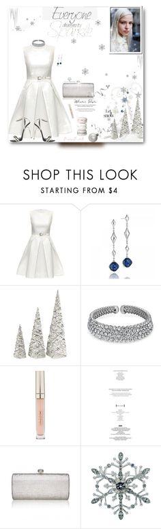 """Sparkle & Shine Winter Style~"" by prettynposh2 ❤ liked on Polyvore featuring Lattori, Tacori, Bling Jewelry, Stila, StyleNanda, Lonna & Lilly, Giuseppe Zanotti, Winter and look"