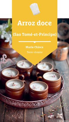 #recette #arrozdoce #dessert #dessertexotique #dessertgourmand #mariechioca #terrevivante Candle Jars, Candles, Bio, Dessert, Arroz Con Leche, Eat Healthy, Rice Puddings, Earth, Deserts