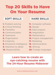 Resume Skills List, Resume Advice, Resume Writing Tips, List Of Skills, Resume Help, Job Resume, Career Advice, Business Writing Skills, Cv Skills