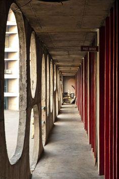 Architecture Student, Art And Architecture, Architecture Details, Le Corbusier Chandigarh, Villa, Brutalist, Beautiful Buildings, Decoration, Concrete
