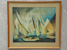Hey, I found this really awesome Etsy listing at https://www.etsy.com/listing/181363845/charles-sheeler-mid-century-modern