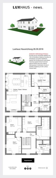Hausrichtung Stadthaus in Zörbig  26.09.2016 !