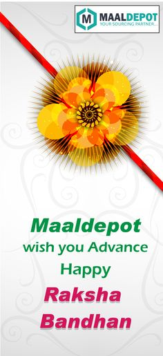 Maaldepot Wishes you all Happy Raksha Bandhan in advance… Get Lightings upto 50% off. Shop at http://bit.ly/2aUAqqz for affordable prices. To place orders,call or whatsapp to 9019156789