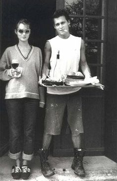 Kate Moss & Johnny Deep - 1990s