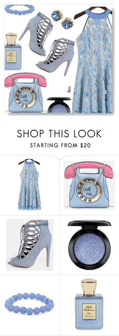 """""""Shein"""" by simona-altobelli ❤ liked on Polyvore featuring MAC Cosmetics, Palm Beach Jewelry, Bella Bellissima and Tory Burch"""