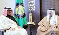 GCC Secretary-General Meets Qatari Ambassador