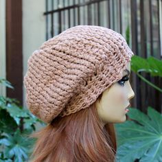 Hey, I found this really awesome Etsy listing at https://www.etsy.com/listing/154519331/hand-knit-tan-light-brown-100-percent