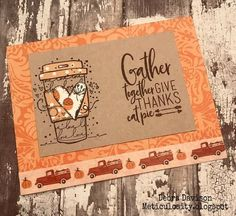 Autumn Cards, Give Thanks, Thankful, Personalized Items, Cover, Art, Fall Cards, Art Background, Kunst