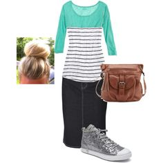 """Pentecostal Casual"" by rosaleenoel on Polyvore"
