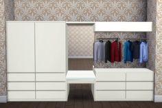 Mod The Sims - Halcyon Closet System