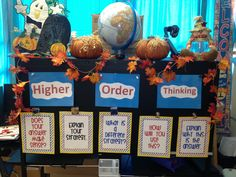 Higher order thinking focus board