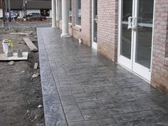 Connecticuts decorative concrete contractor for stamped driveways, pool decks , walkways and patios Concrete Patios, Concrete Patio Designs, Wood Stamped Concrete, Decorative Concrete, Wood Fence Installation, Outdoor Cabana, Porch Addition, Concrete Contractor, Concrete Color