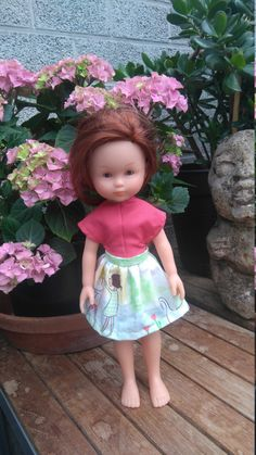 Jurk voor Corolle mes cheries in Michael Miller https://www.etsy.com/listing/474881657/sommer-doll-dress-for-les-cheries