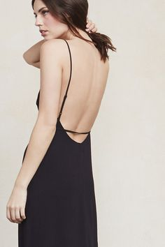Just a really lovely thing you'll want to wear everywhere. This is part of the No Red Carpet Needed Collection - 25% of the sales generated from this style will go to support sustainability education at the MUSE School CA. https://www.thereformation.com/products/samata-dress-black?utm_source=pinterest&utm_medium=organic&utm_campaign=PinterestOwnedPins