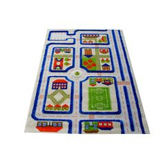 Luca and Company 3D Traffic Rug (3'x5')