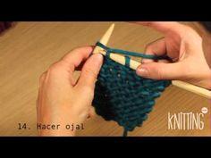 Échale creatividad 14. Hacer ojal   Knitting Point