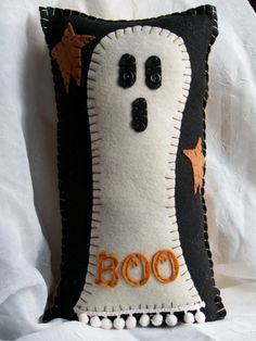 primitive ghost pillow
