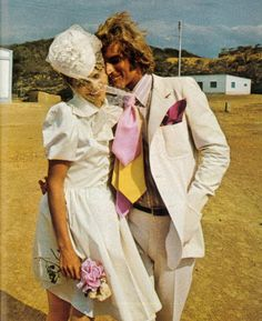 """theyroaredvintage: """" Photo by Franco Rubartelli for French Vogue, 1972. """""""