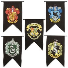 Hogwarts Banner Decoration Choose From The Gryffindor Slytherin
