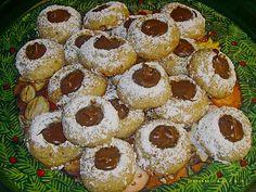 nougat buttons – Desserts World Banana Dessert Recipes, Cheesecake Recipes, Smoothie Recipes, Cookie Recipes, Desserts, Recipes With Buttermilk Breakfast, Buttermilk Recipes, Cookies Et Biscuits, Chip Cookies