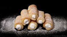 Schaumrollen - Gudrun von Mödling Eclairs, Sweets, Gudrun, Desserts, Group, Board, Wafer Cookies, Finger Food, Chef Recipes