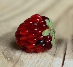 Lampwork Beads Handmade Glass Berry Bead (1) - Made to Order - Vivartstudio SRA