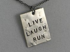 #therunhome.com #love #LIVE #LAUGH! #Choose #RUN, #YOGA #LOVE #Nickel #pendants #with #inch #gunmetal #chain LIVE LAUGH! Choose RUN, YOGA or LOVE - Nickel pendants with 18 inch gunmetal chain http://www.seapai.com/product.aspx?PID=919637