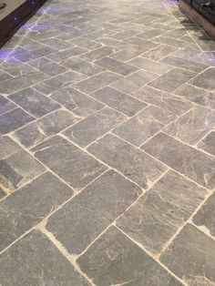 Slate herringbone floor tiles - a great idea for kitchens, hallways, bathrooms and boot rooms. Time worn antiqued surface for interiors and exterior.   http://www.naturalstoneconsulting.co.uk/slate-herringbone-tiles