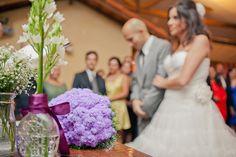 decoração casamento com garrafa