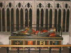 Robert Curthose, eldest son of William the Conqueror. Gloucester Cathedral.