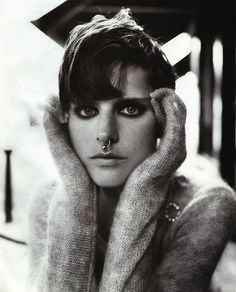 """Anglo-Saxon Attitude"", Vogue UK, December 1993  Photographer: Steven Meisel  Model: Stella Tennant"