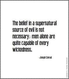 Quotable - Joseph Conrad