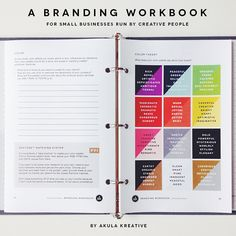 A Branding Workbook for creative professionals. 40+ pages of exercises, tips, and guidelines to craft a unique, thoughtful, and relevant brand identity.