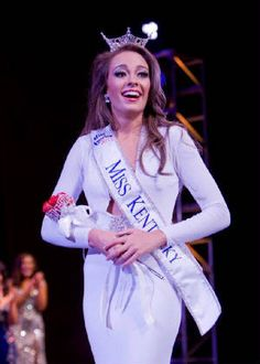 Jessica Casebolt of Pikeville is crowned Miss Kentucky 2012.