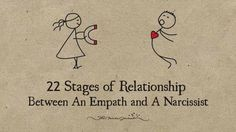 the empath is not able to understand that they are just being manipulated , 22 Stages of Relationship Between An Empath and A Narcissist