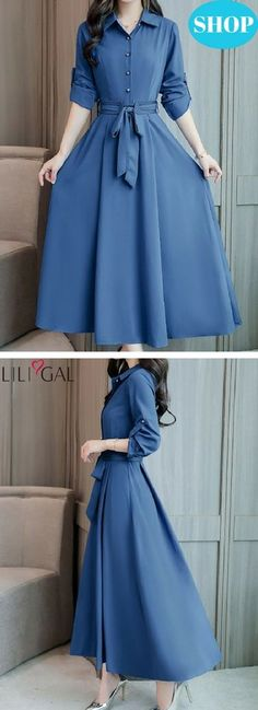 Fashion Dresses Source by didaraliye Modest Dresses, Modest Outfits, Modest Fashion, Dress Outfits, Casual Dresses, Fashion Dresses, Belted Dress, I Dress, Pretty Outfits