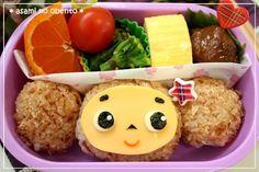 Cheburashka Rice Bento Box Recipe