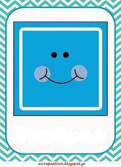 SGBlogosfera. María José Argüeso: FIGURAS CON PERSONALIDAD Robot Classroom, Preschool Classroom, Classroom Themes, Mathematics Geometry, Teaching Geometry, Shapes Flashcards, Shape Games, File Folder Activities, Paper Plate Crafts For Kids