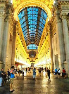 Un salto in galleria con Pino Branca #milanodavedere Milano da Vedere