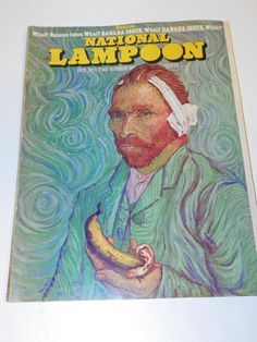 VTG NATIONAL LAMPOON MAGAZINE (OCT1973): ADULT HUMOR PARODY SATIRE JOKE CARTOON