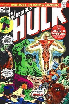 The Incredible Hulk vol 1 #178 | Cover art by Herb Trimpe