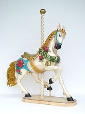 CABALLO CARRUSEL Horse Carousel 1,45 meters Amazing Decoration Gift Regalo