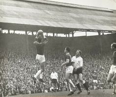 Birmingham 4 Fulham 1 in Sept 1962 at St Andrews. Action as Birmingham win comfortably in Division Birmingham City Fc, St Andrews, Fulham, Division, 1960s, Saints, Action, Football, Concert